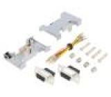 Přechod: adaptér z obou stran, D-Sub 9 pinů zásuvka