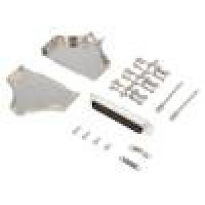 Zástrčka D-Sub PIN:37 vidlice lisované kontakty přímý pájení