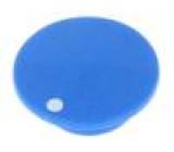 Víčko plast zatlačované modrá Určení: K21