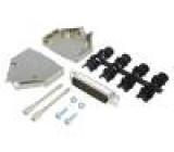 Zástrčka D-Sub PIN:25 vidlice stíněný pájení na kabel