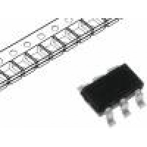 CMT2119A Integrovaný obvod: vysílač 2-wire Síť: RF SOT23-6 1,8÷3,6VDC