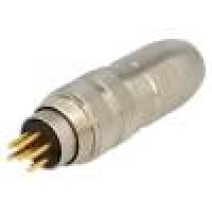 Konektor M16 zástrčka vidlice pájení na kabel PIN:6 250V