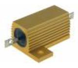 Rezistor drátový s radiátorem přišroubováním 12Ω 25W ±5%
