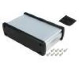 Kryt univerzální X:146,6mm Y:89mm Z:41,6mm hliník stříbrná