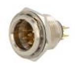 AG6MCC Zásuvka XLR mini vidlice PIN:6 pájení