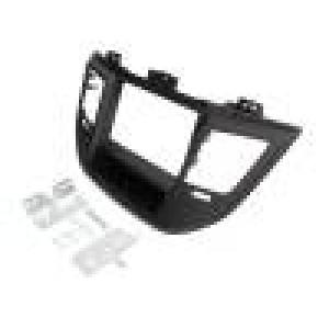 Rámeček pro autorádio 2 DIN Hyundai černá