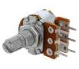 Potenciometr axiální jednootáčkový 10kΩ 63mW ±20% THT 6mm