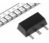BSS192PH6327FTSA1 Tranzistor: P-MOSFET unipolární -250V -190mA 1W PG-SOT89