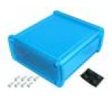 Kryt univerzální X:115,1mm Y:119mm Z:51,6mm modrá UL94V-0