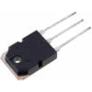 2SD2083 Tranzistor: NPN x2 bipolární Darlington 120V 25A 120W TO3P