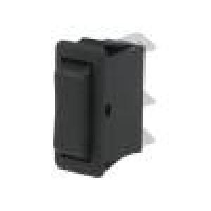 Kolébkový přepínač SPDT (ON)-OFF-(ON) 16A/250VAC 3 polohy