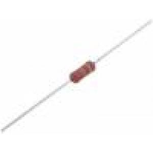 Rezistor: power metal THT 39Ω 1W ±5% Ø2,5x8mm 250ppm/°C