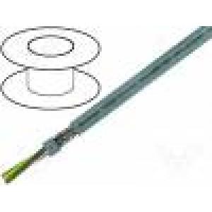 Kabel LiY-CY 40x0,75mm2 PVC šedá 500V