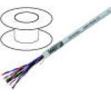 Kabel LiYCY-P 25x2x0,75mm2 PVC šedá 350V