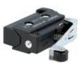 Mikrospínač s páčkou (s kladkou) SPST-NO 10A/250VAC OFF-(ON)