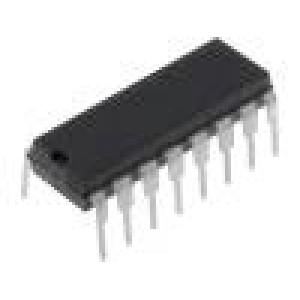 PCF8574N Periferní obvod 8bit, expandér I/O I2C 2,5÷6VDC DIP16