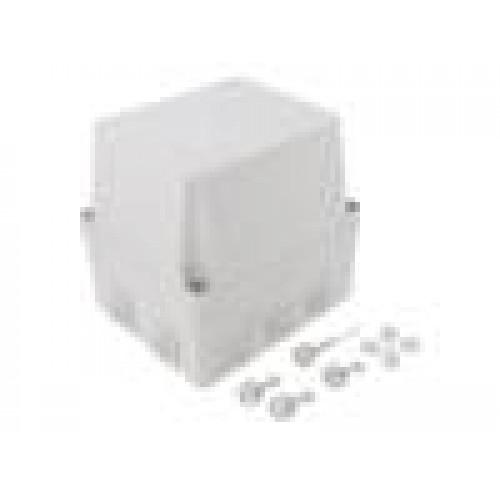 5c8649eb7 Kryt: propojovací krabice X:135mm Y:160mm Z:150mm šedá IP55