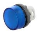 Kontrolka 22mm Podsv: MLB-1 plochá barva modrá -25÷70°C