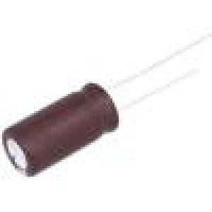 Kondenzátor elektrolytický s nízkou impedancí THT 1000uF 10V