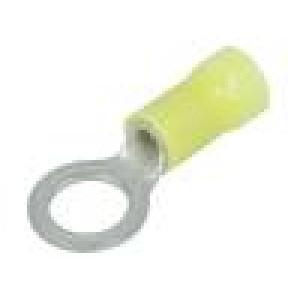 Zakončovací očko M8 Ø:8,3mm 3÷6mm2 krimpovací na kabel