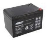 Akumulátor - baterie kyselino-olověné 12V 15Ah Životnost: až 1800 cyklů