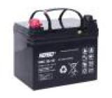 Akumulátor - baterie kyselino-olověné 12V 36Ah Životnost: až 1800 cyklů