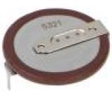 Akumulátor - baterie Li VL2020 3V 20mAh Výv:2pin Ø20x2,7mm -20÷60°C