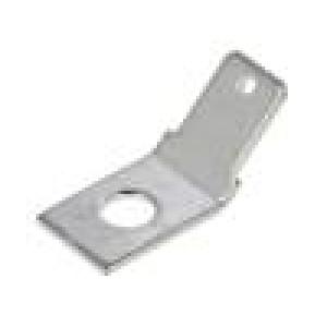 Konektor plochý 6,3mm 0,8mm kolík M3,5 šroubovací mosaz