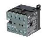Stykač:4-pólový 24VDC 16A NO x4 DIN, na stěnu Řada: B7D