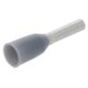 Trubičková koncovka izolovaná měď 0,75mm2 6mm pocínovaný