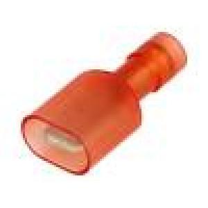 Konektor plochý 6,3mm 0,8mm kolík 0,25÷1,5mm2 krimpovací