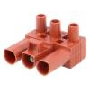 Konektor: rozpojovací svorkovnice zacvaknutí zásuvka na kabel