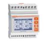 Modulový měřič výkonu LCD (128x80) V AC:10÷480V I AC:0,01÷6A
