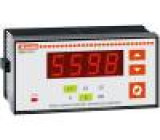 Panelový měřič výkonu LED V AC:35÷660V I AC:0,05÷5,75A