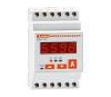 Modulový ampérmetr AC LED I AC:0,05÷5,75A True RMS 45÷65Hz