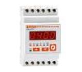 Modulový měřič výkonu LED True RMS 53,5x58,1x105,4mm 45÷65Hz