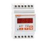 Modulový měřič cosφ LED True RMS 53,5x58,1x105,4mm 50÷60Hz