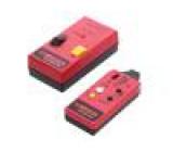 2032-D Vyhledávač vodičů LED Shoda s: EN61010 250V CAT II