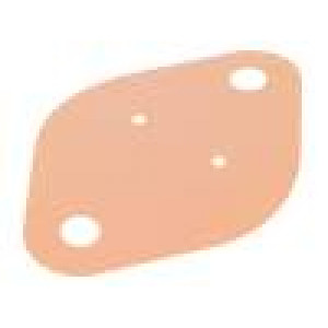 Tepelně vodivá podložka: kaptonová TO3 0,15K/W L:42mm W:29mm