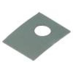Tepelně vodivá podložka: silikonová SOT32 0,45K/W L:11mm