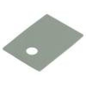 Tepelně vodivá podložka: silikonová TO220 0,4K/W L:18mm 10kV