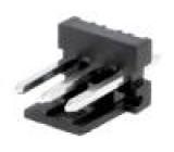 Zásuvka kabel-pl.spoj vidlice PIN:3 3,96mm THT MAS-CON přímý