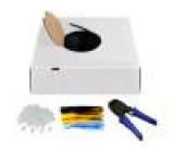 Kabel U/UTP 6 externí drát CCA 4x2x24AWG PE černá 100m