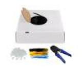 Kabel U/UTP 6 externí drát CCA 4x2x24AWG PE černá