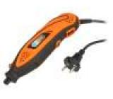 Mini drill 10÷32krpm 135W 230V 1.8m