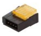 Zástrčka kabel-kabel/plošný spoj vidlice PIN:4 2mm IDC 32V