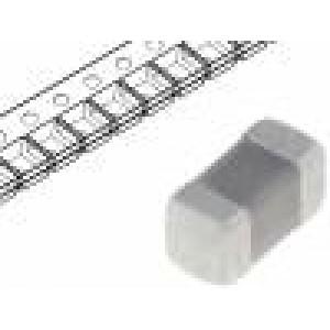 Kondenzátor keramický 330pF 50V C0G ±5% SMD 0402