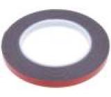 Knot: upevňovací W:9mm L:5m Použití: upevňování D:1,1mm 90°C