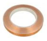 Knot: elektricky vodivá W:12mm L:33m D:0,066mm Mat: měď UL510