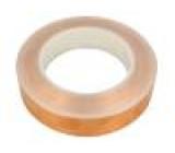 Knot: elektricky vodivá W:25mm L:33m D:0,066mm Mat: měď UL510